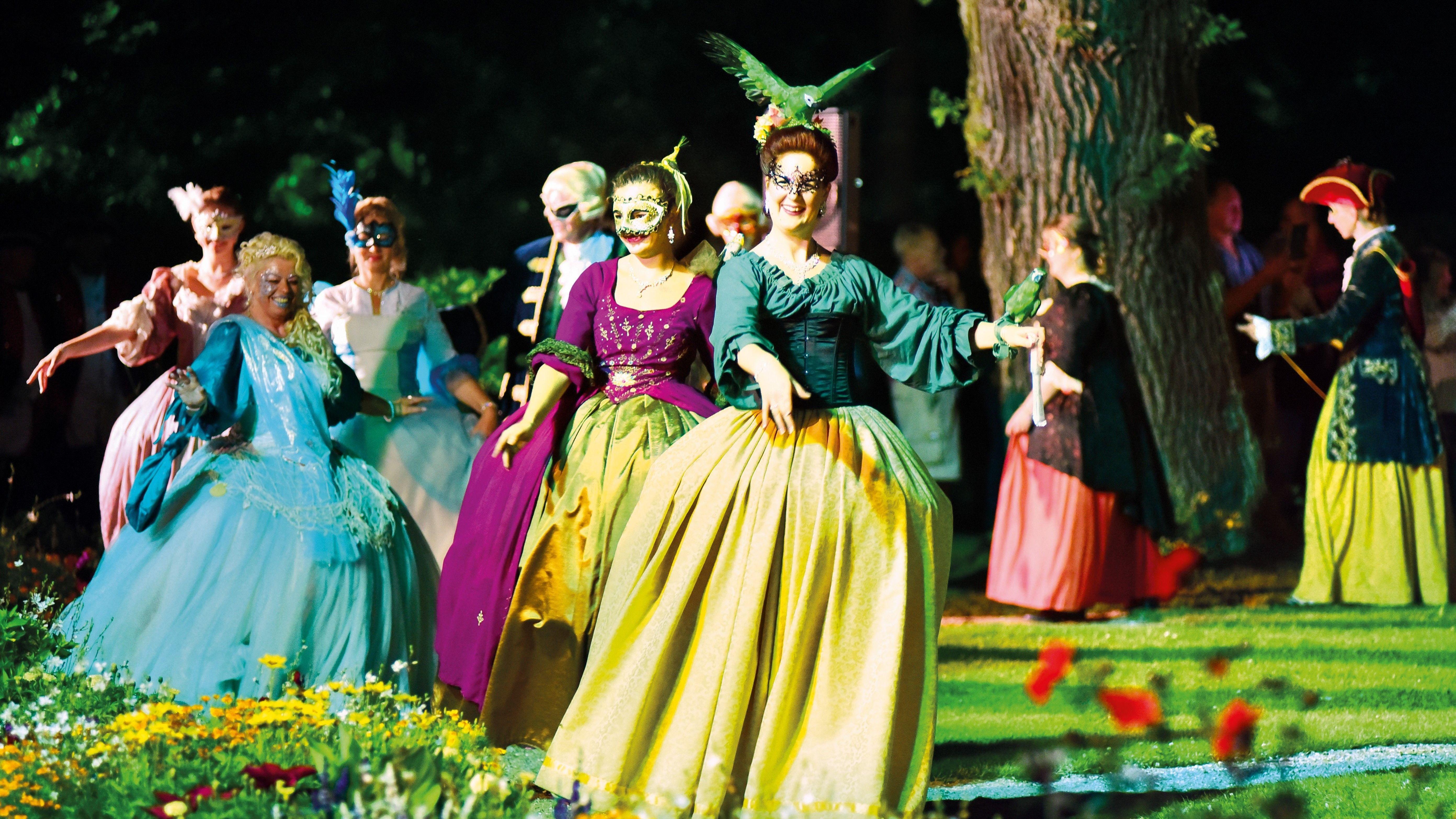 Rokoko-Festspiele in Ansbach