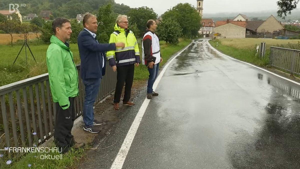 Hochwasserschutz-Konzepte für neun Kommunen an der Volkach
