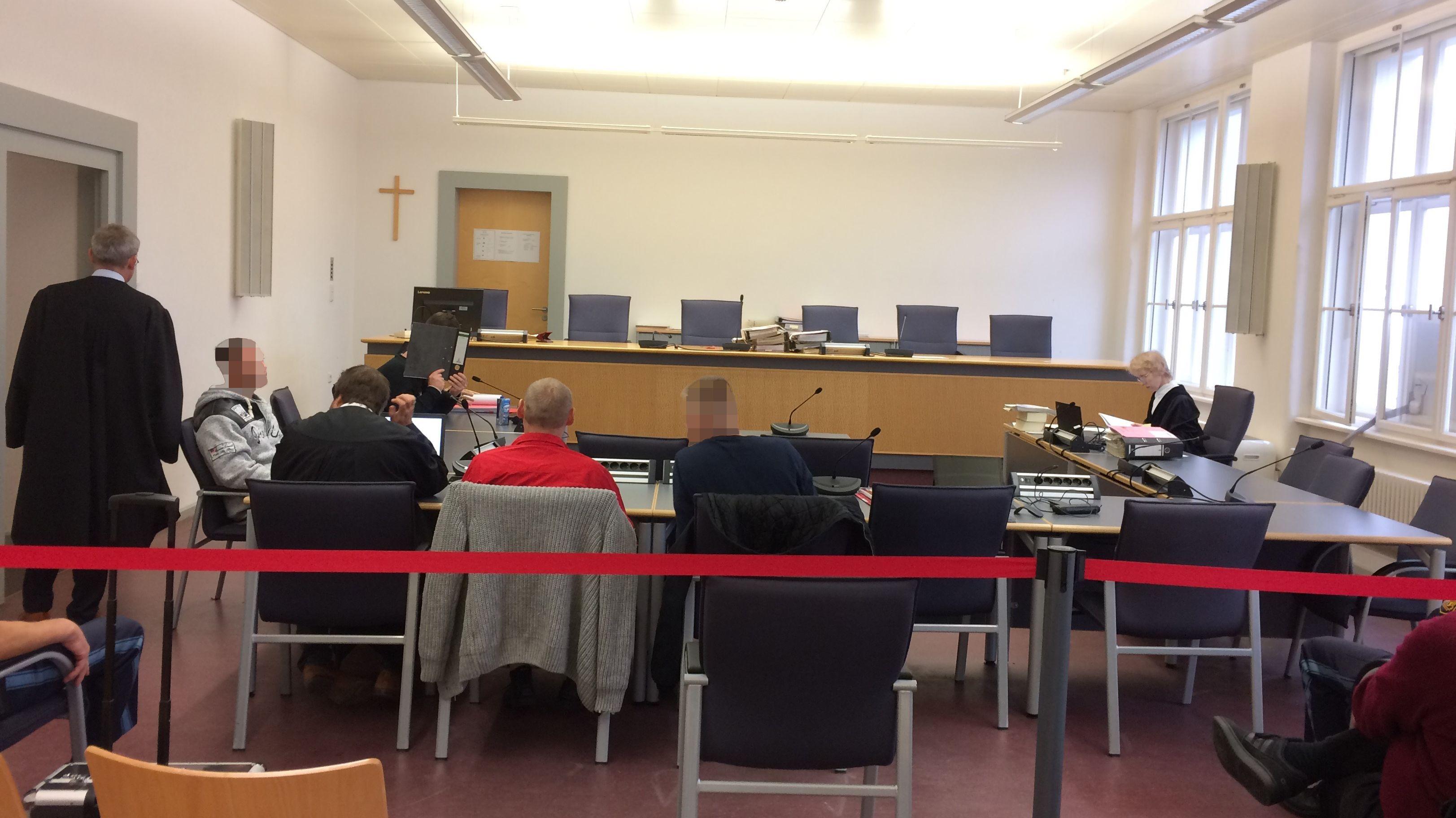 Gerichtssaal am Landgericht Regensburg