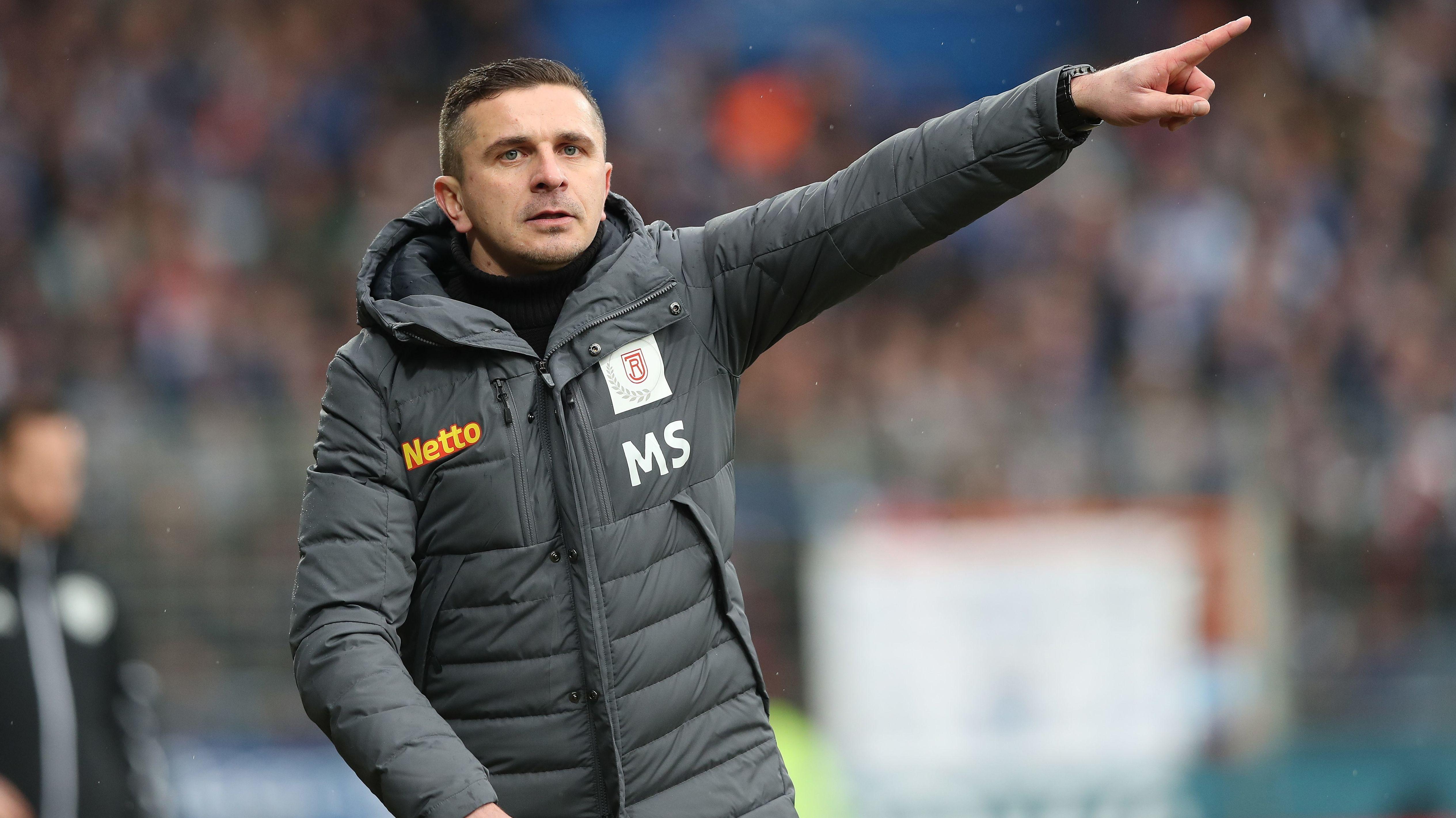 Jahn Regensburg-Trainer Mersad Selimbegovic