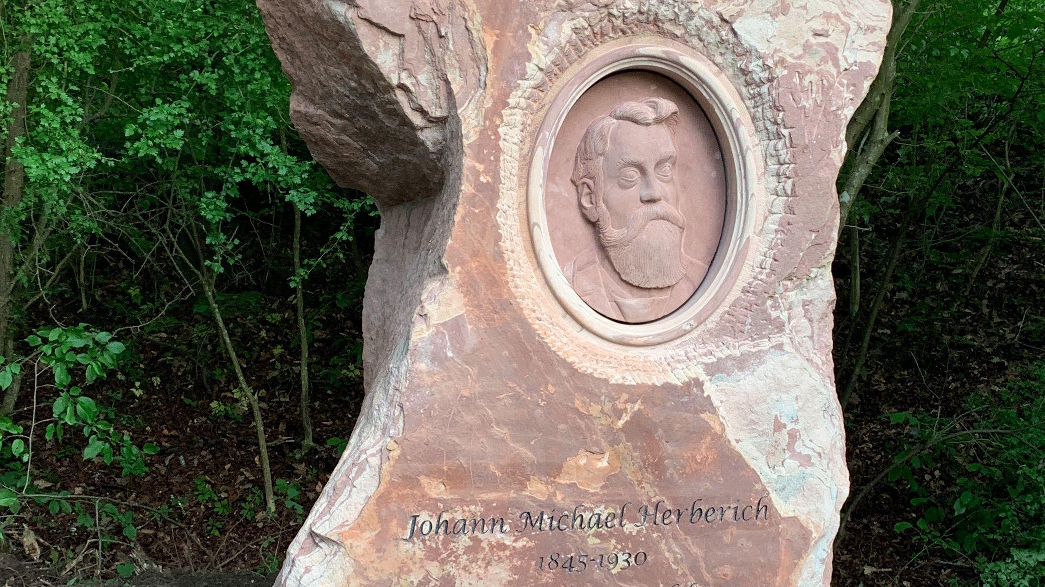 Gedenkstein für Johann Michael Herberich