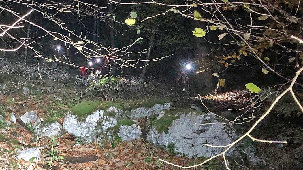 Rettung einer fünfköpfigen Familie bei Dunkelheit am Königssee