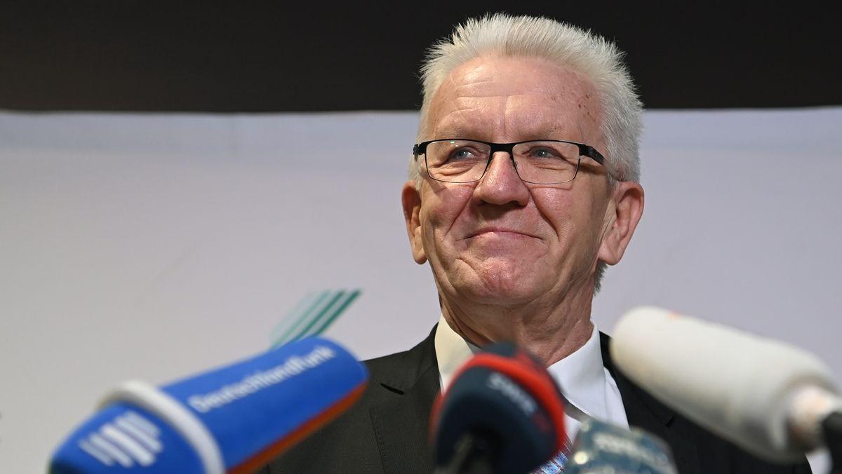 Wahlsieger: Winfried Kretschmann von den Grünen.