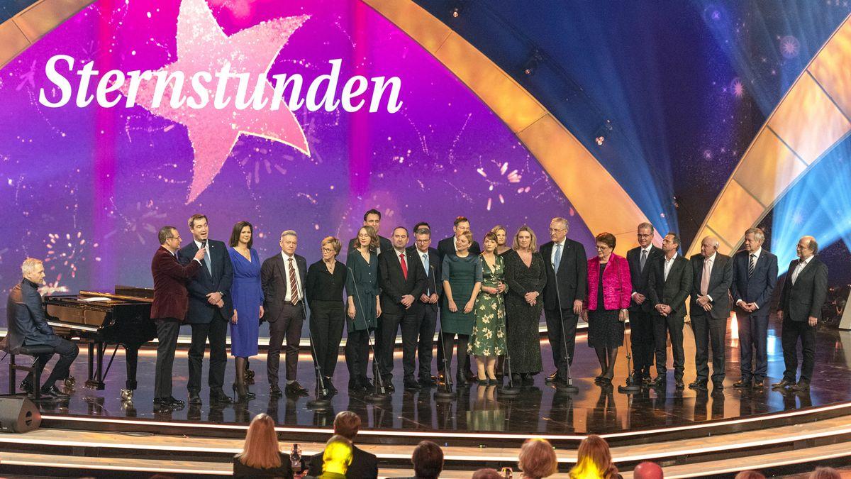 Die Sternstunden-Gala am 13. Dezember 2019 in der Nürnberger Frankenhalle