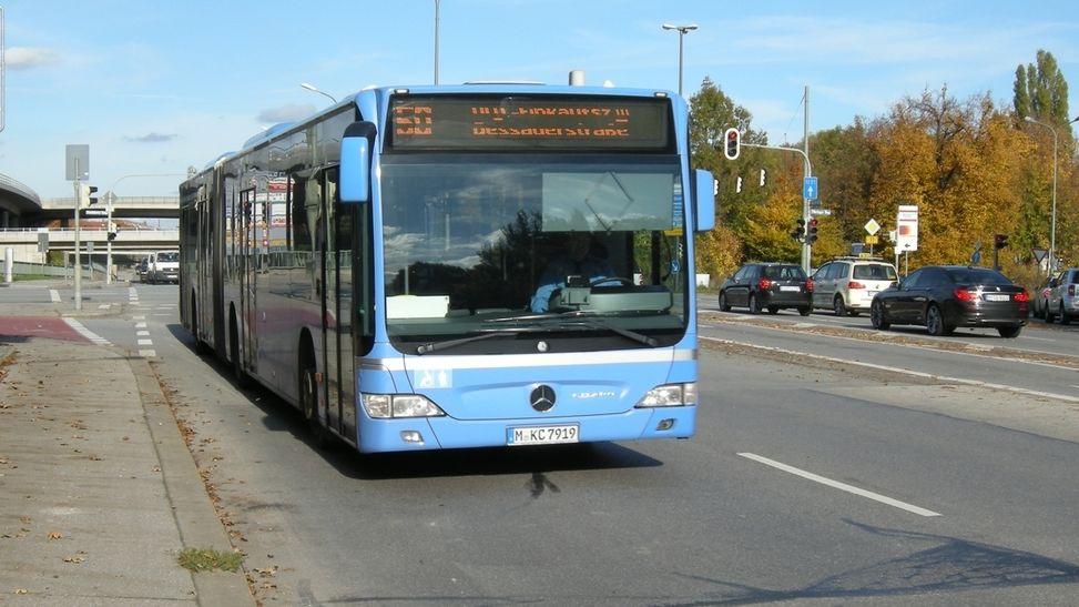 Omnibus in München.