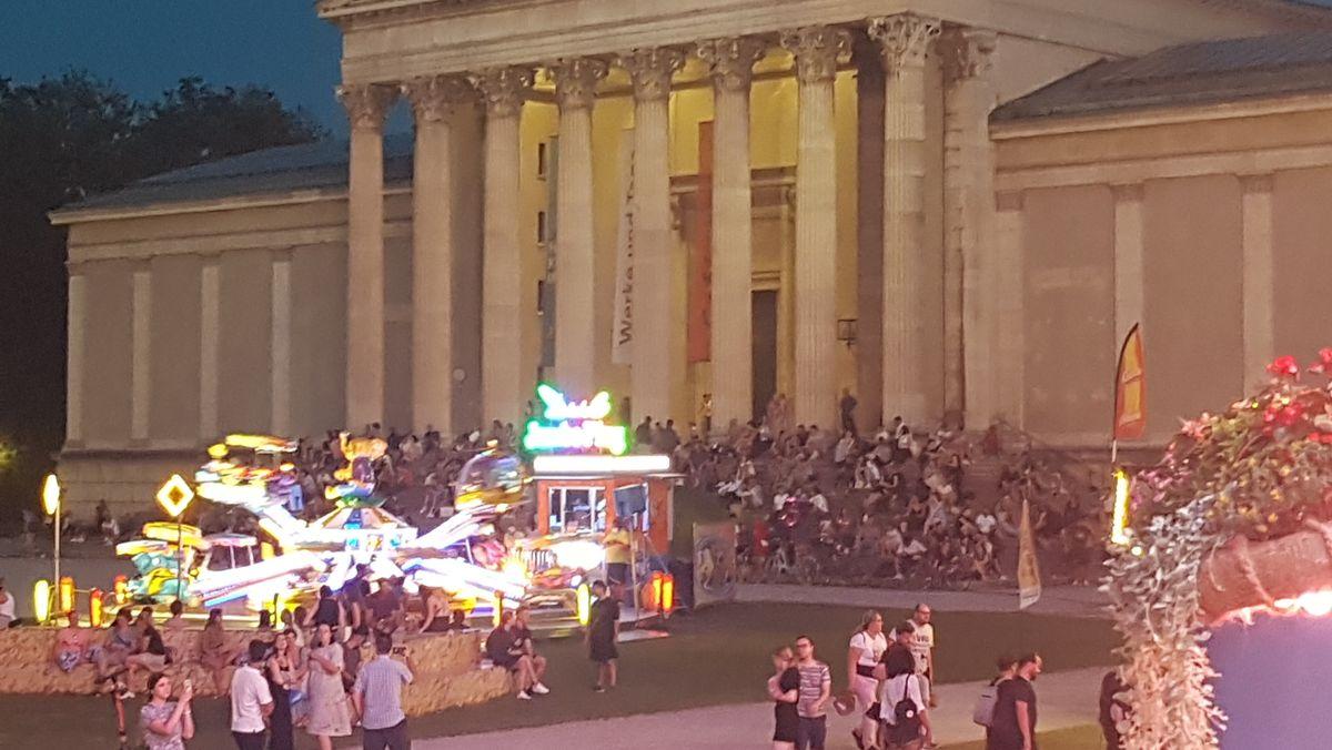 """""""Sommer in der Stadt"""" auf dem Königsplatz"""