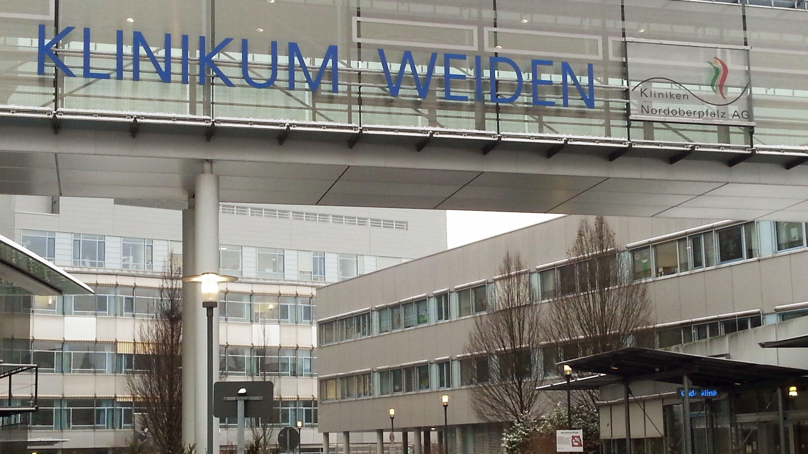Das Klinikum Weiden, größtes Haus der Kliniken Nordoberpfalz AG