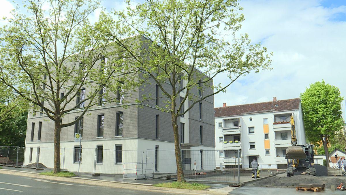 Hybrid-Holz-Häuser in Würzburg