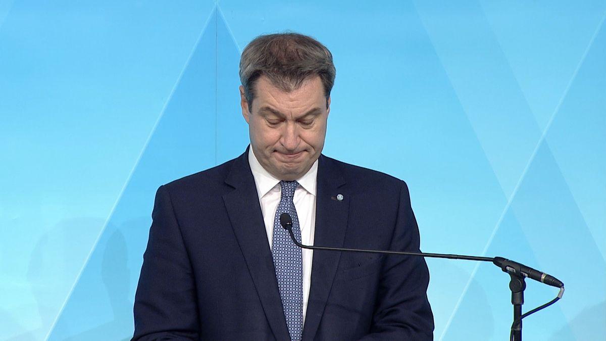 Der Bayerische Ministerpräsident Markus Söder äußert sich zu den Beschlüssen der Ministerpräsidentenkonferenz von gestern sowie den heutigen Beschlüssen im Bayerischen Kabinett.