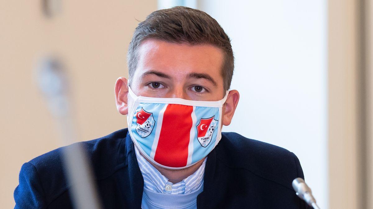 Türkgücü-Geschäftsführer Max Kothny