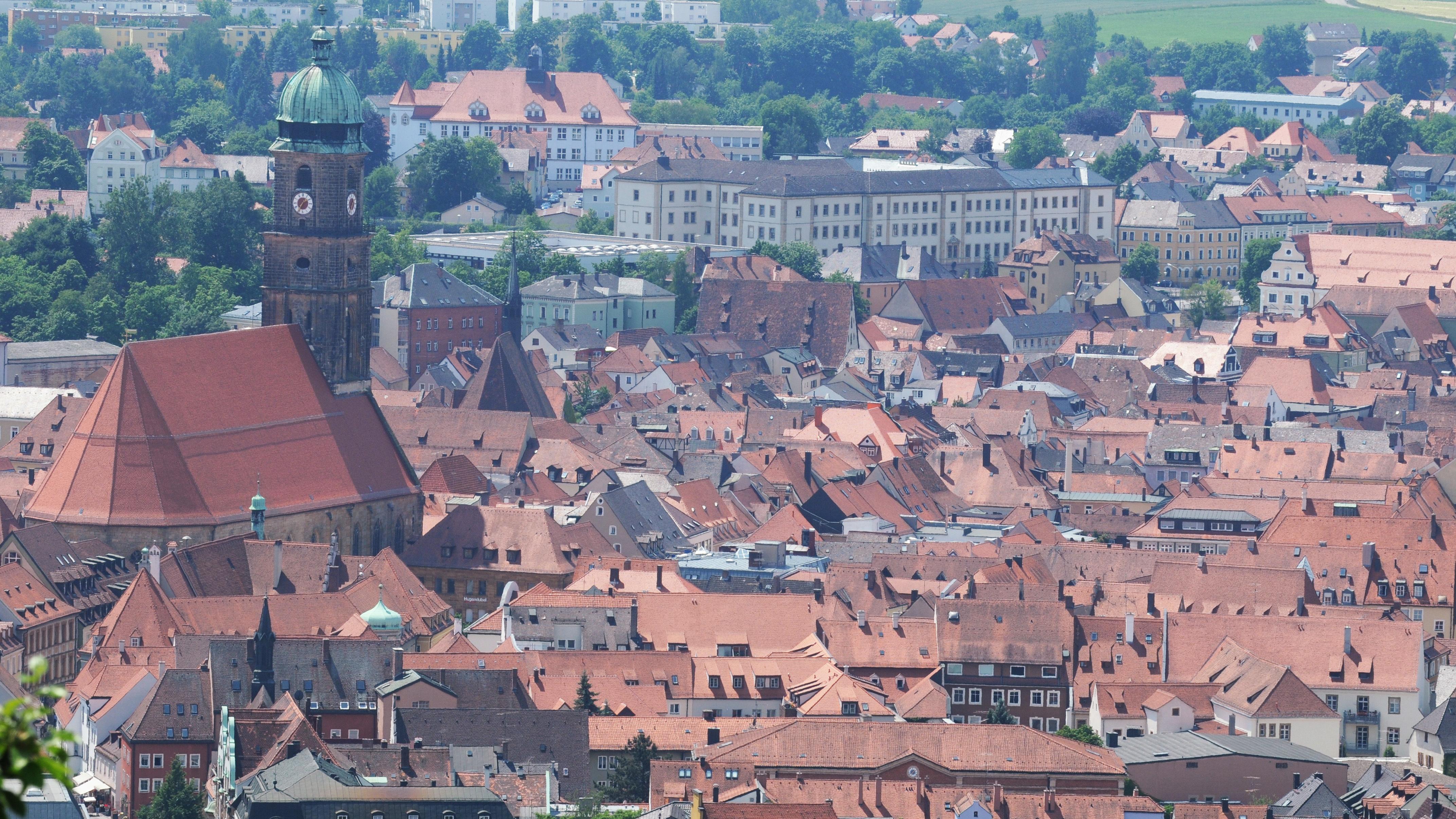 Stadtansicht von Amberg