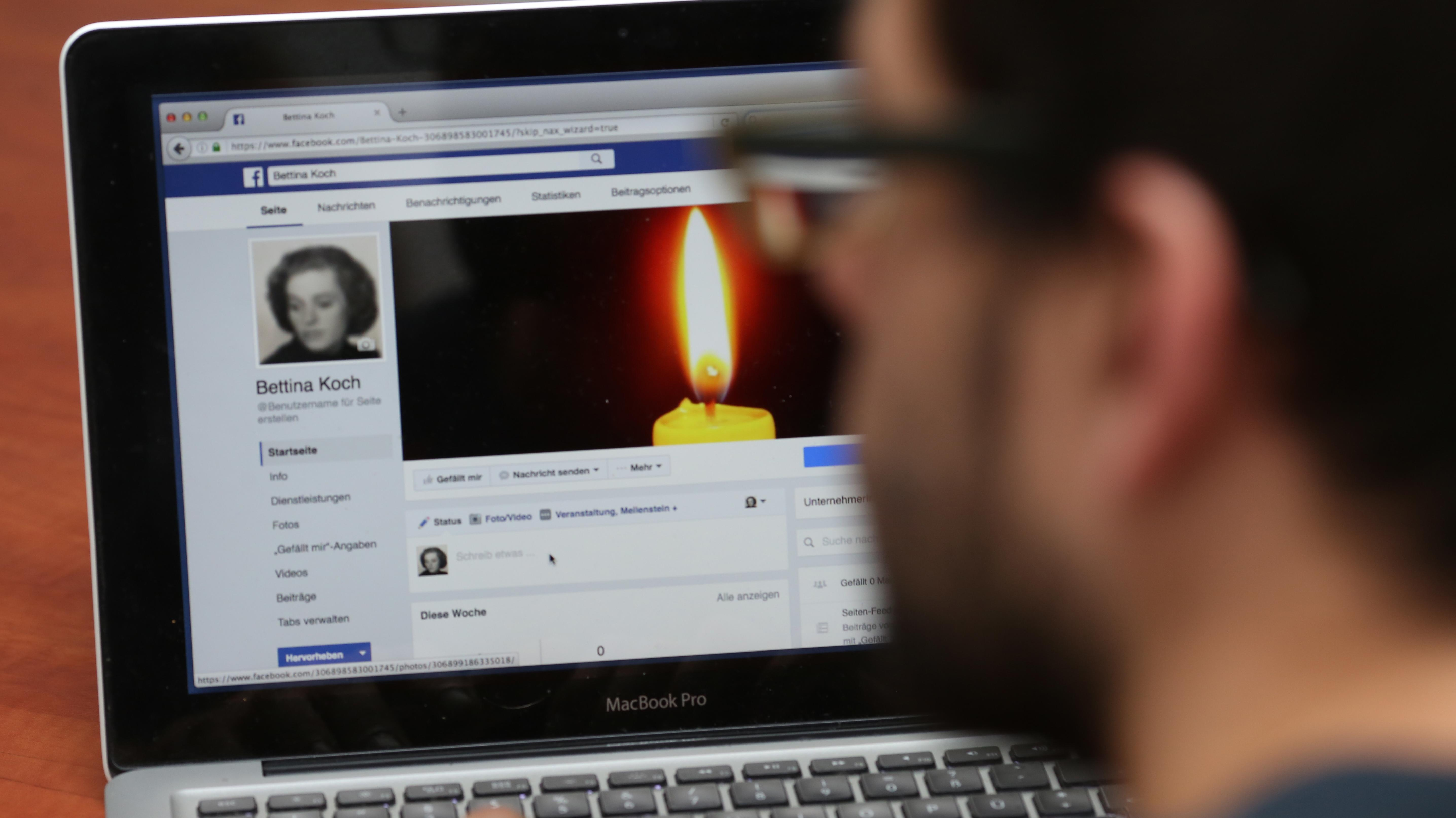 Facebook-User konsoliert