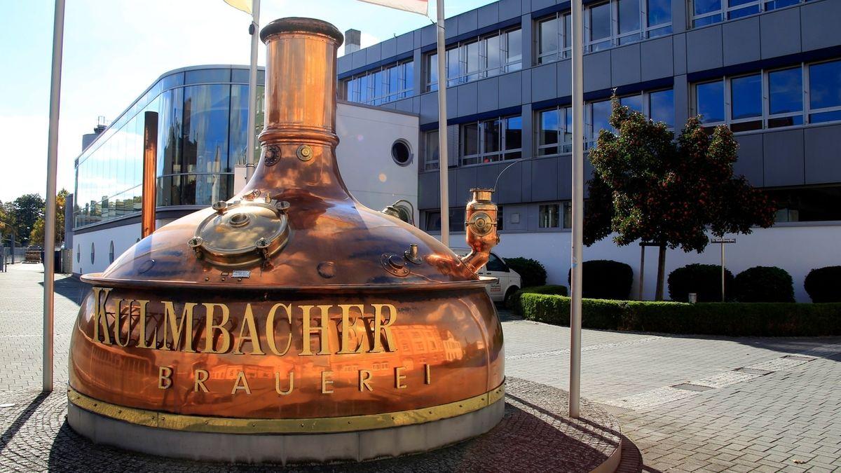 Die Kulmbacher Brauerei in Kulmbach. Sie wurde 1895 als eine Aktiengesellschaft gegründet.