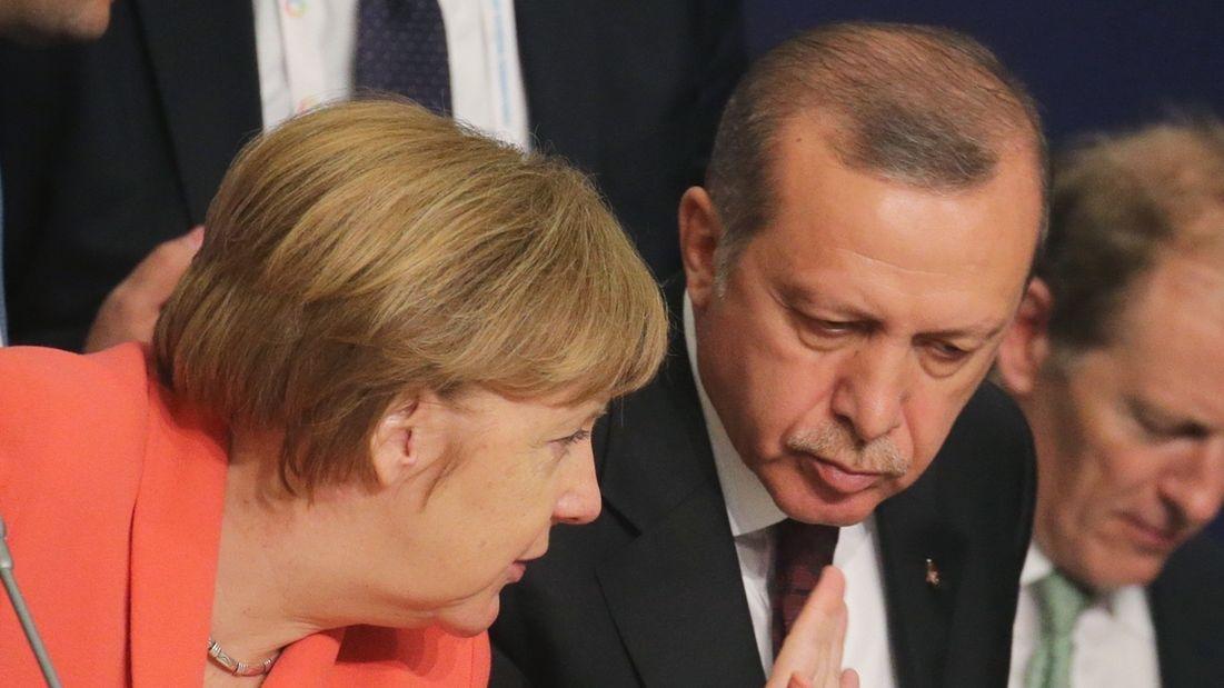 Merkel zu Besuch bei Erdogan