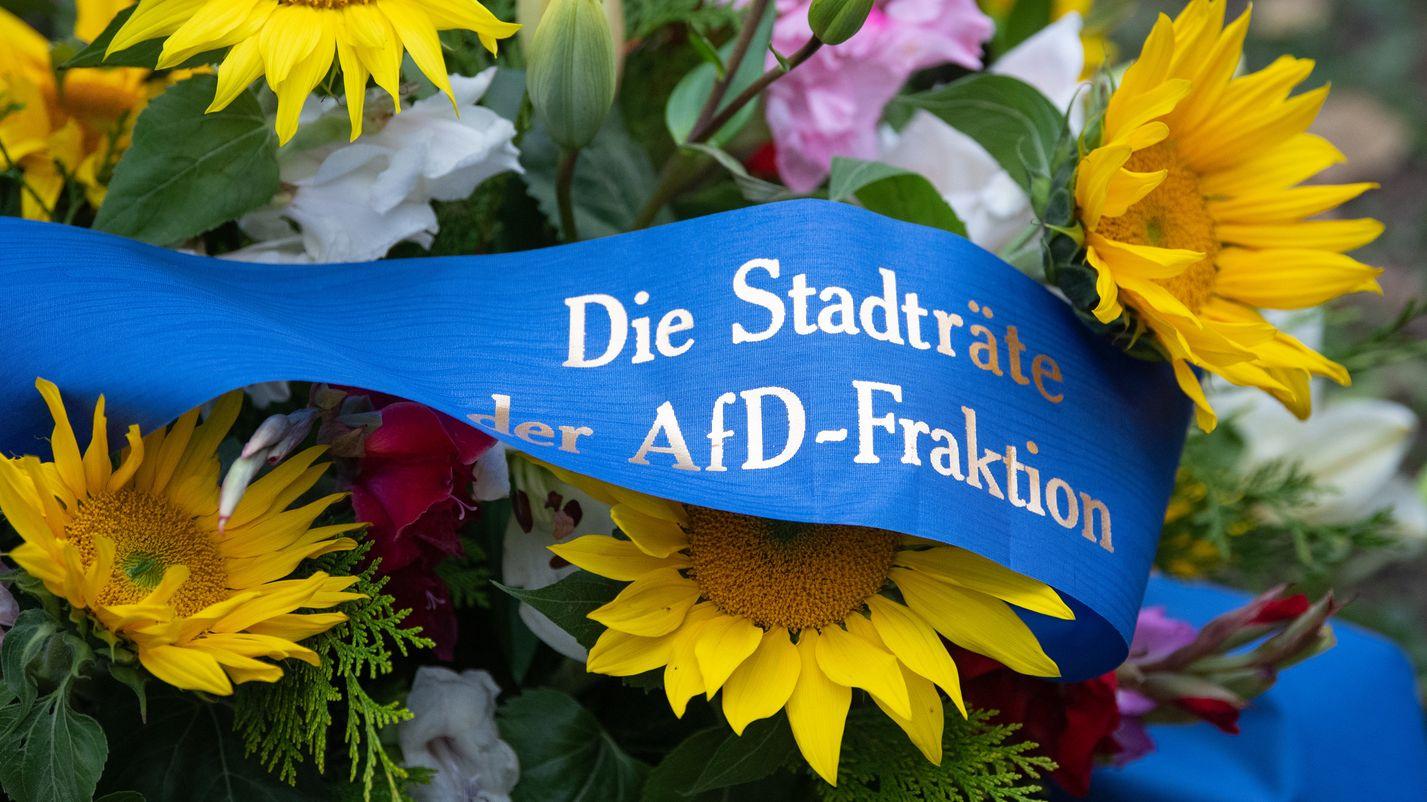 AfD bekundet Beileid für Opfer in Halle