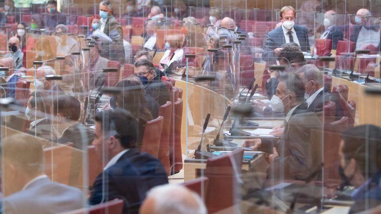 Sitzung des Bayerischen Landtags | Bild:pa / dpa / Sven Hoppe
