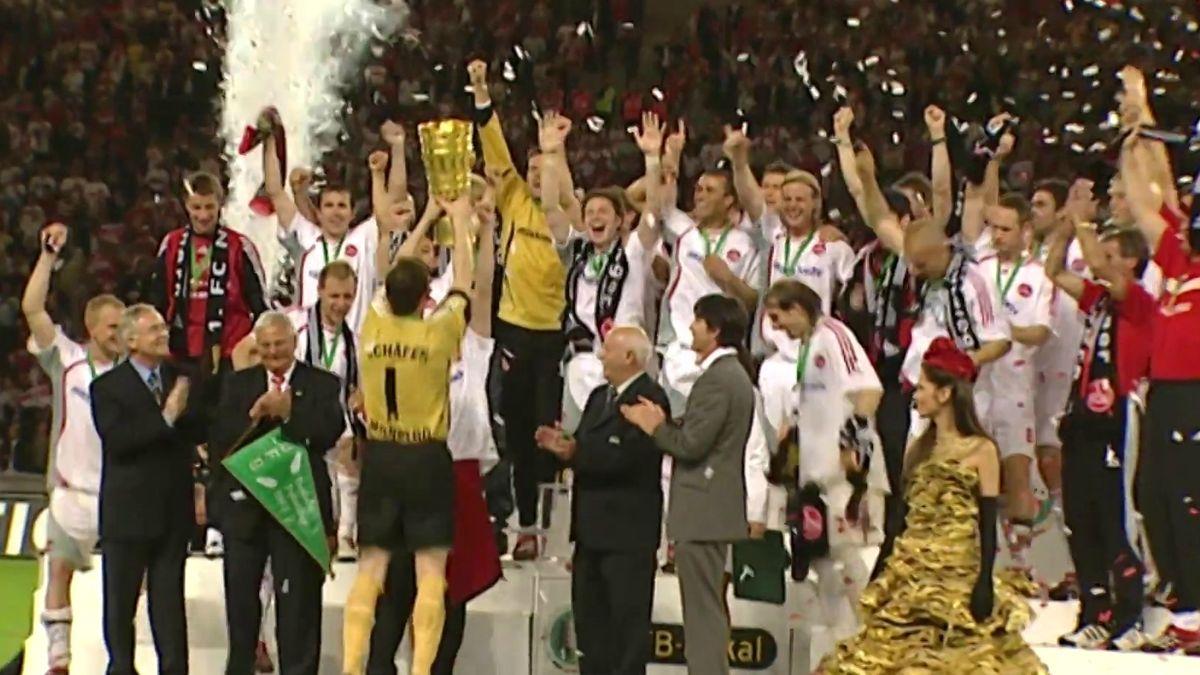 1. FC Nürnberg feiert DFB-Pokal