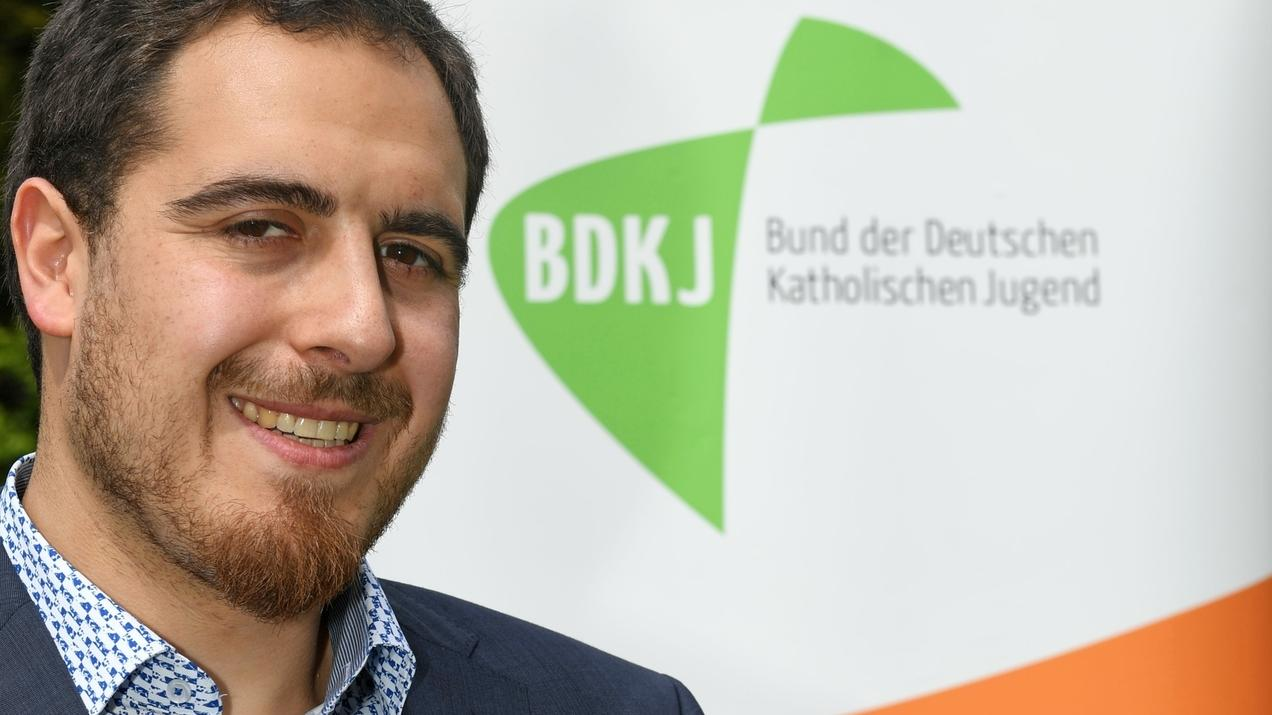 BDKJ-Bundesvorsitzender Thomas Andonie