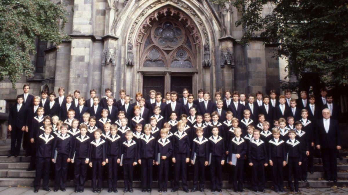Thomanerchor in Leipzig 1989