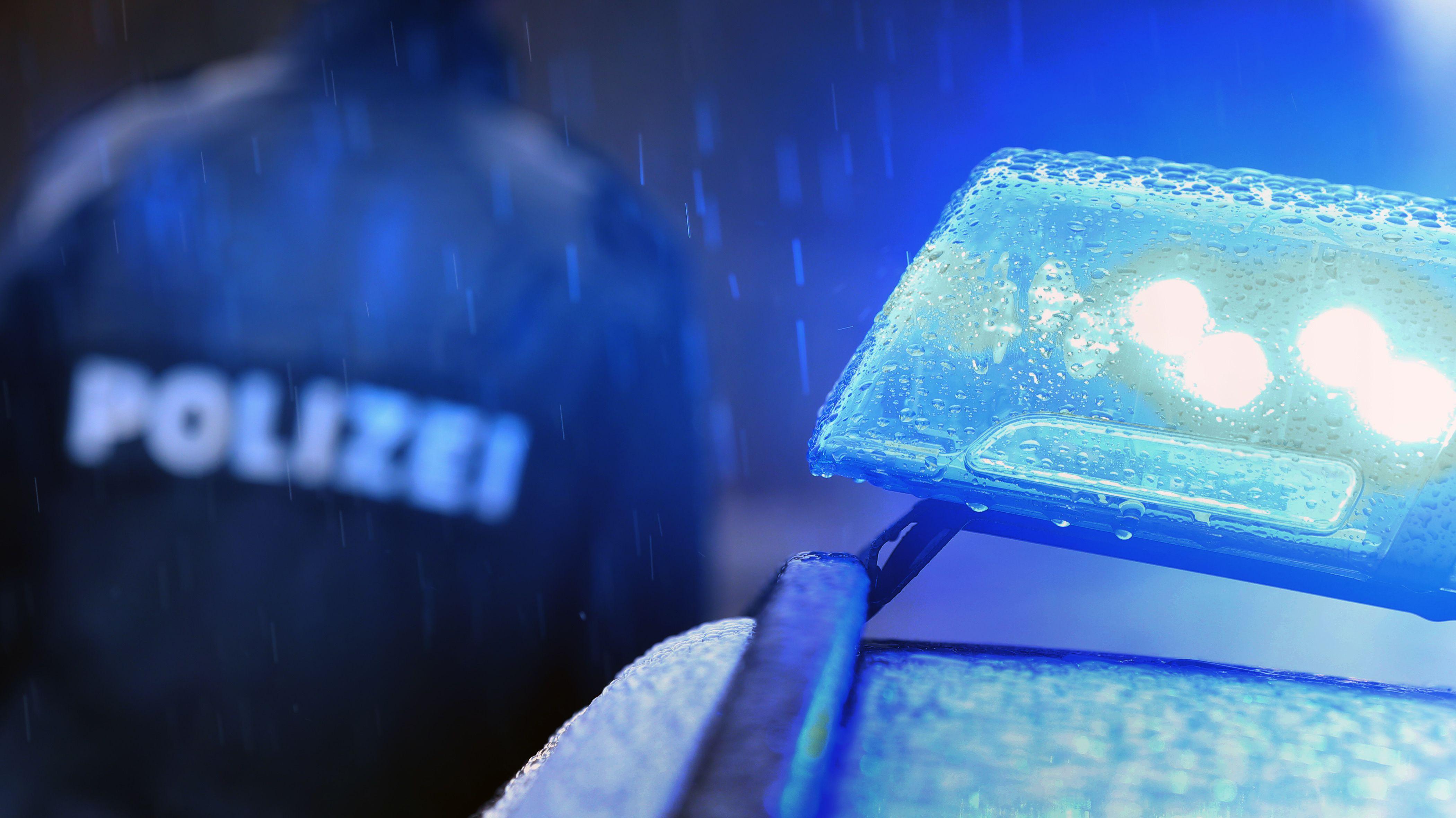 Polizei-Blaulicht (Symbolbild).