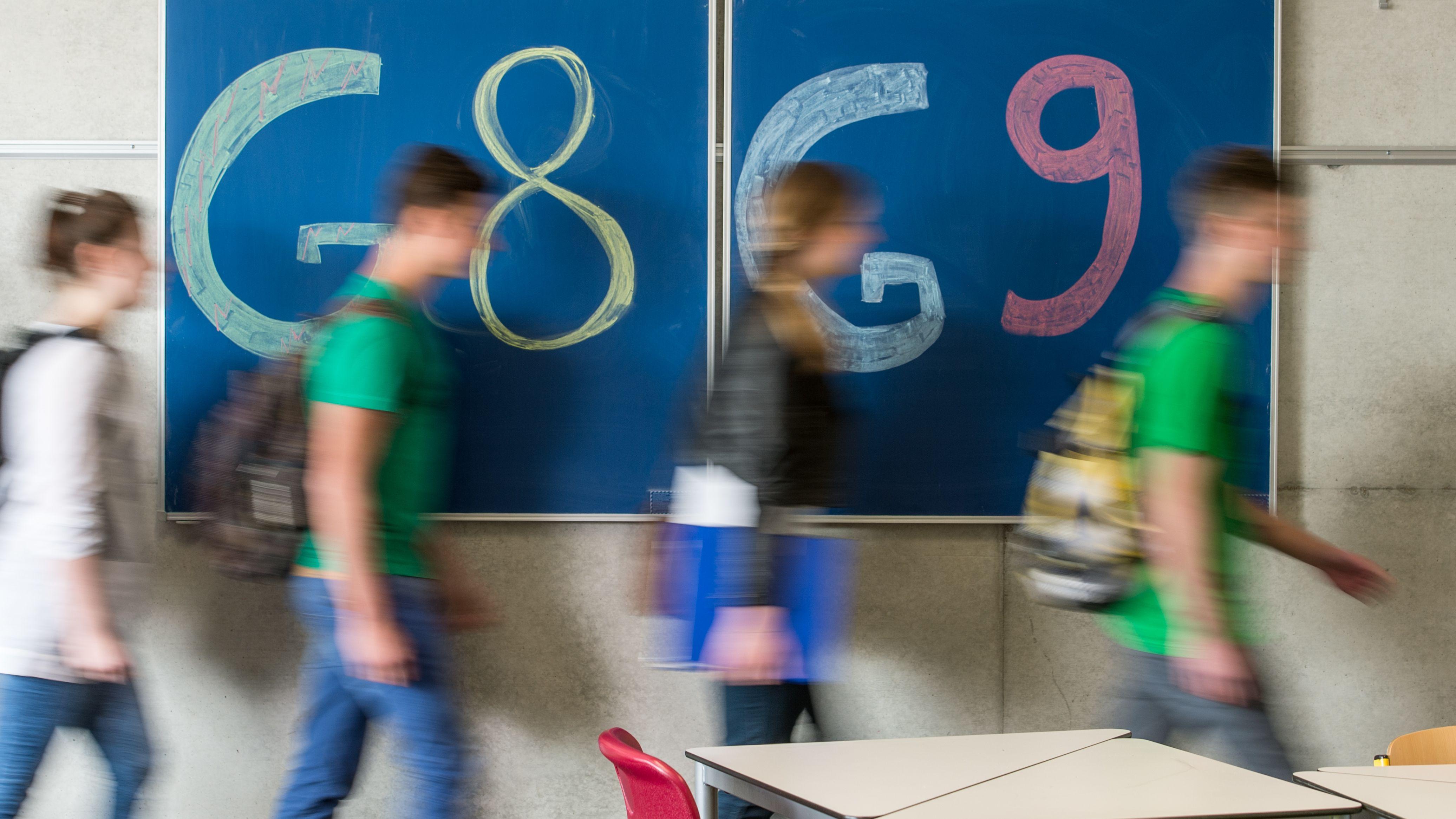 Symbolbild: Übergang von G8 zu G9