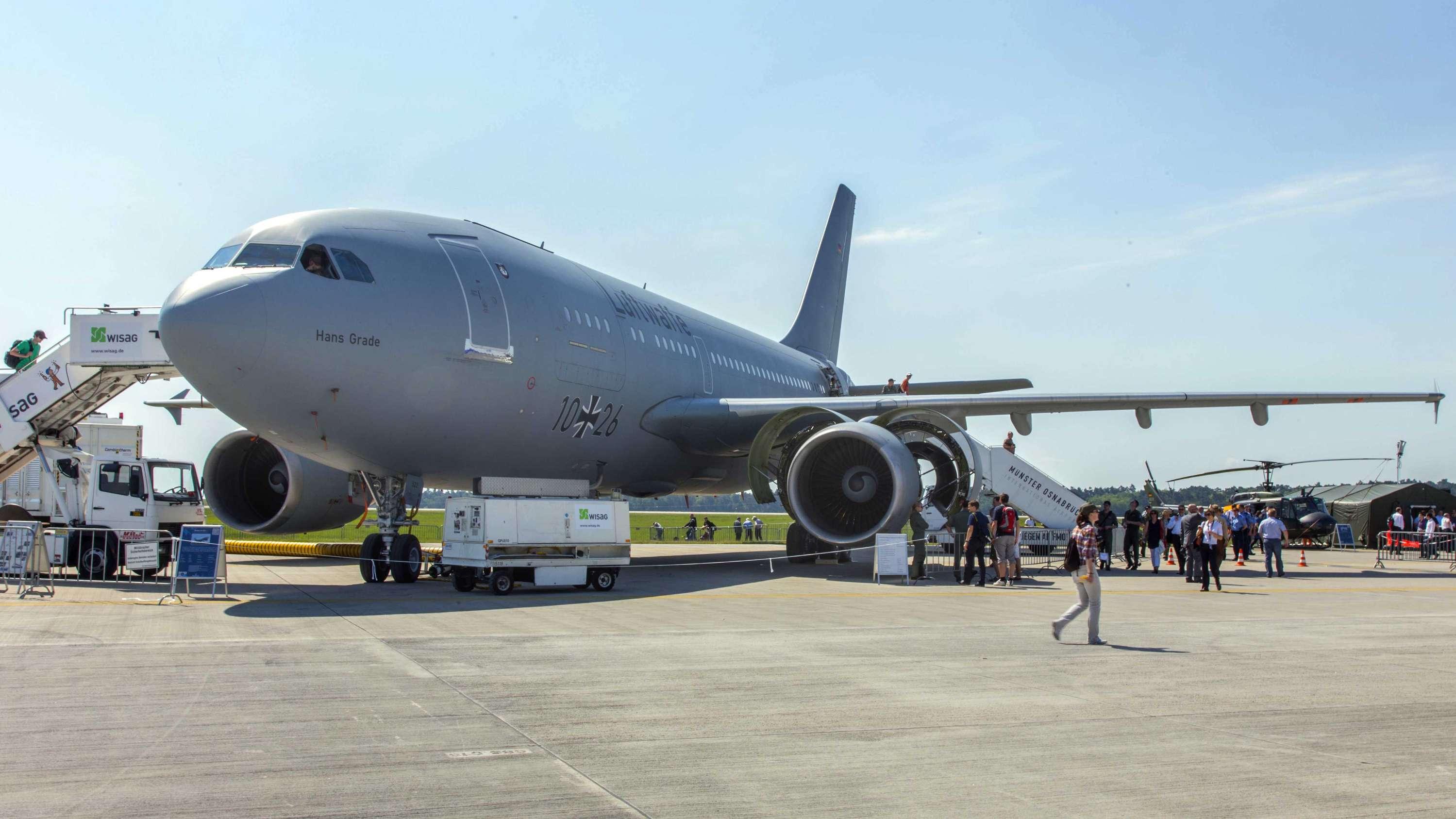 Airbus A310 MedEvac vor dem Start (Symbolbild)