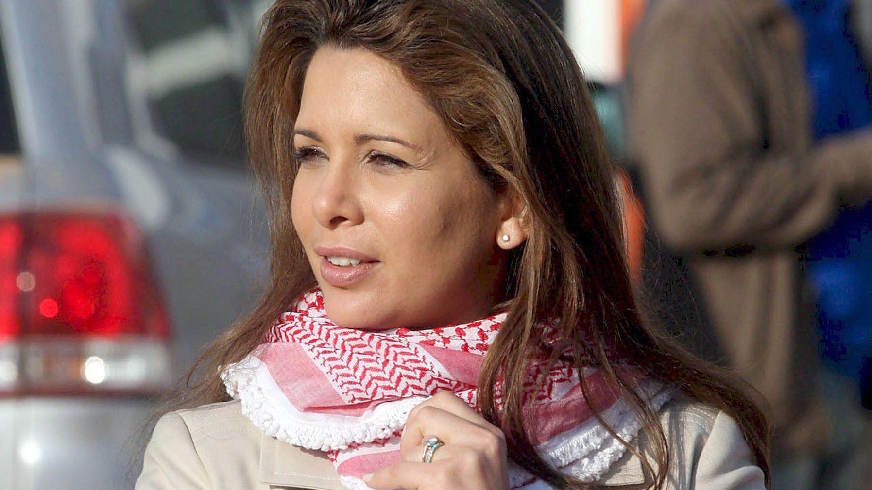 Prinzessin Haja Bint al-Hussein, Ehefrau von Scheich Mohammed bin Raschid al-Maktum, dem Emir von Dubai.