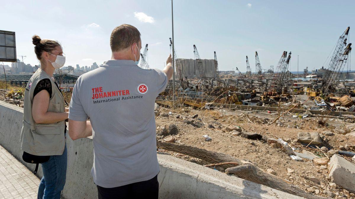 Würzburger Johanniter-Experten helfen Betroffenen im Libanon