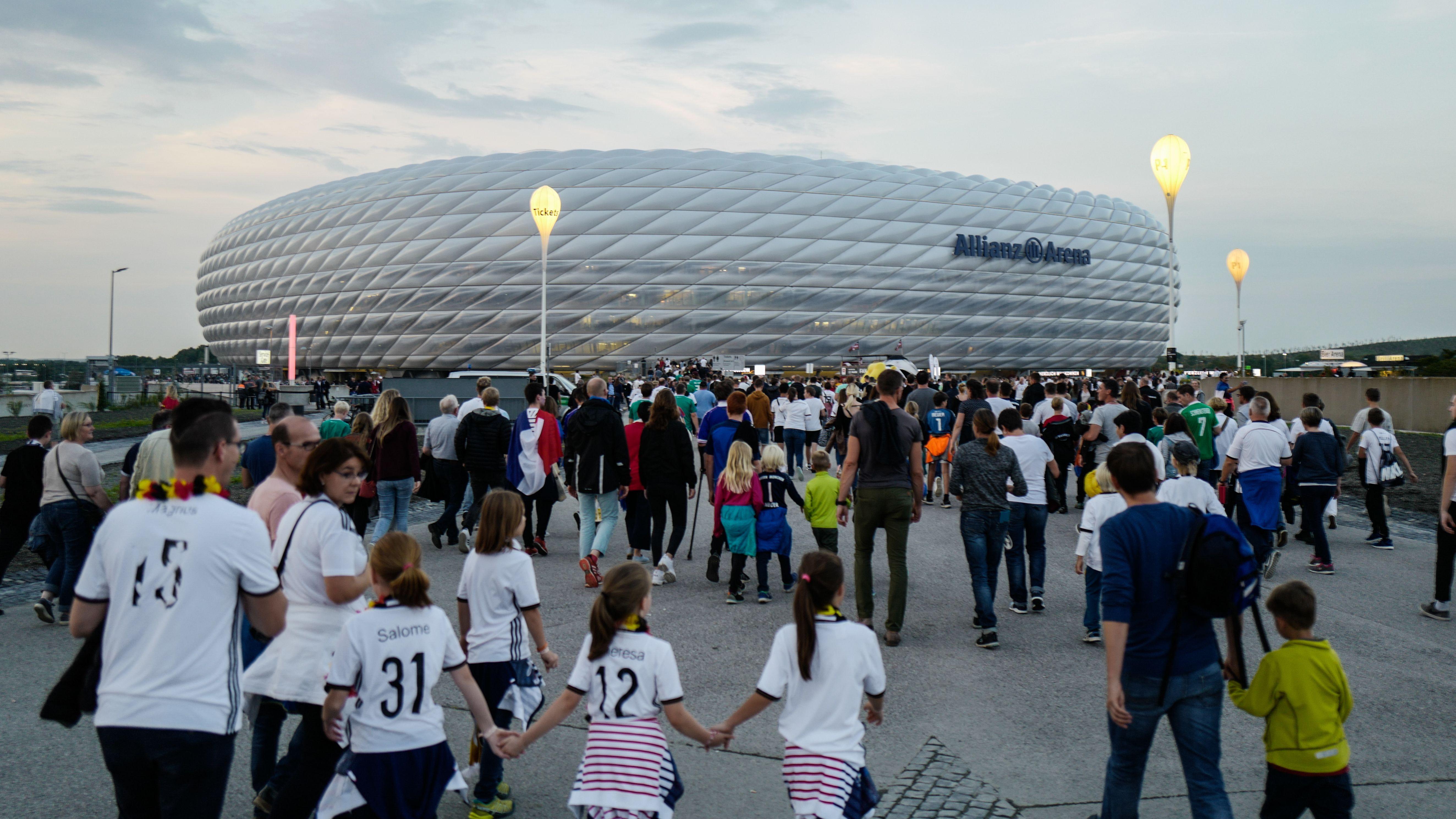 Die Münchner EM-Arena