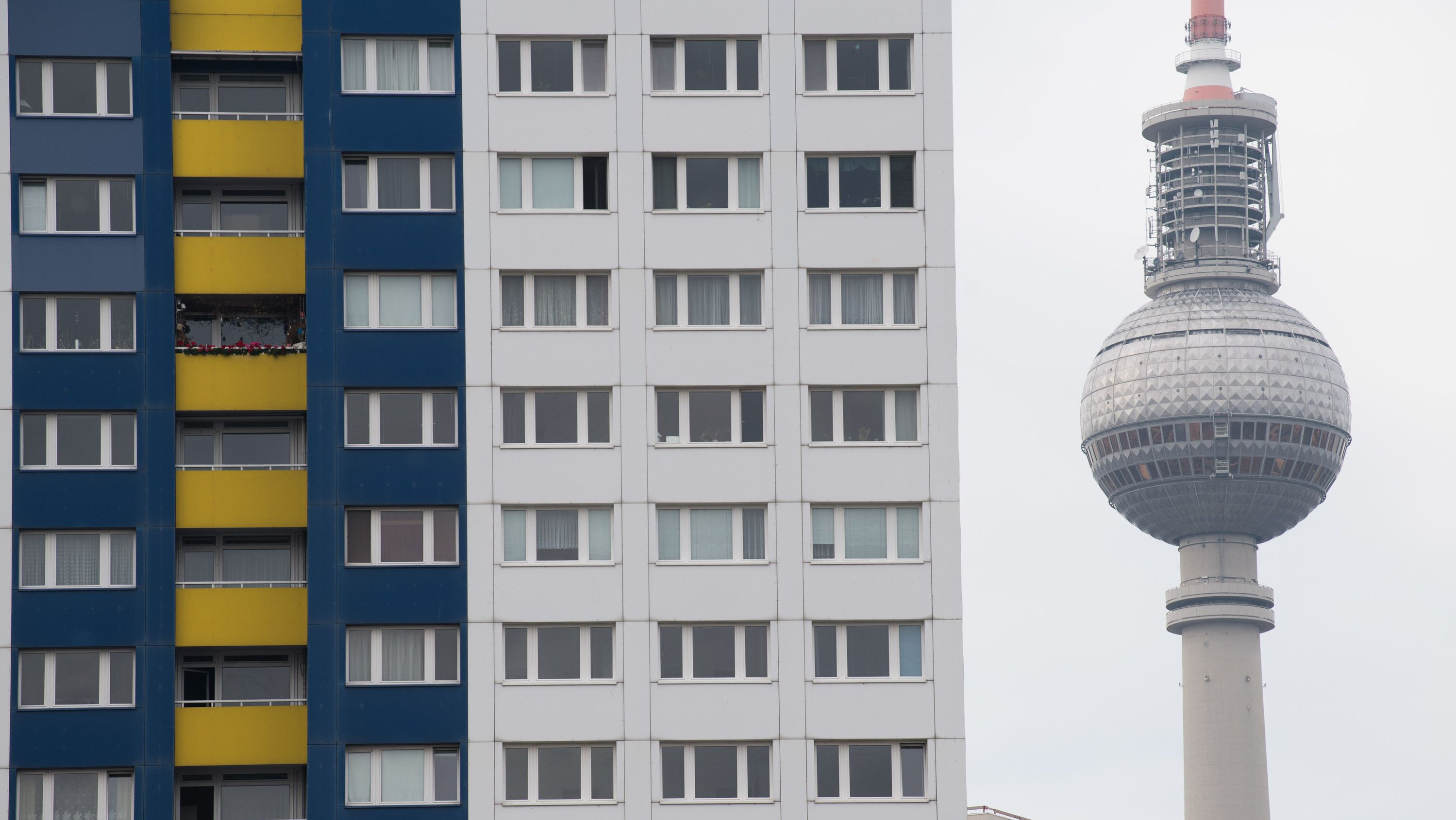 Wohnungen in Sichtweite des Berliner Fernsehturms.