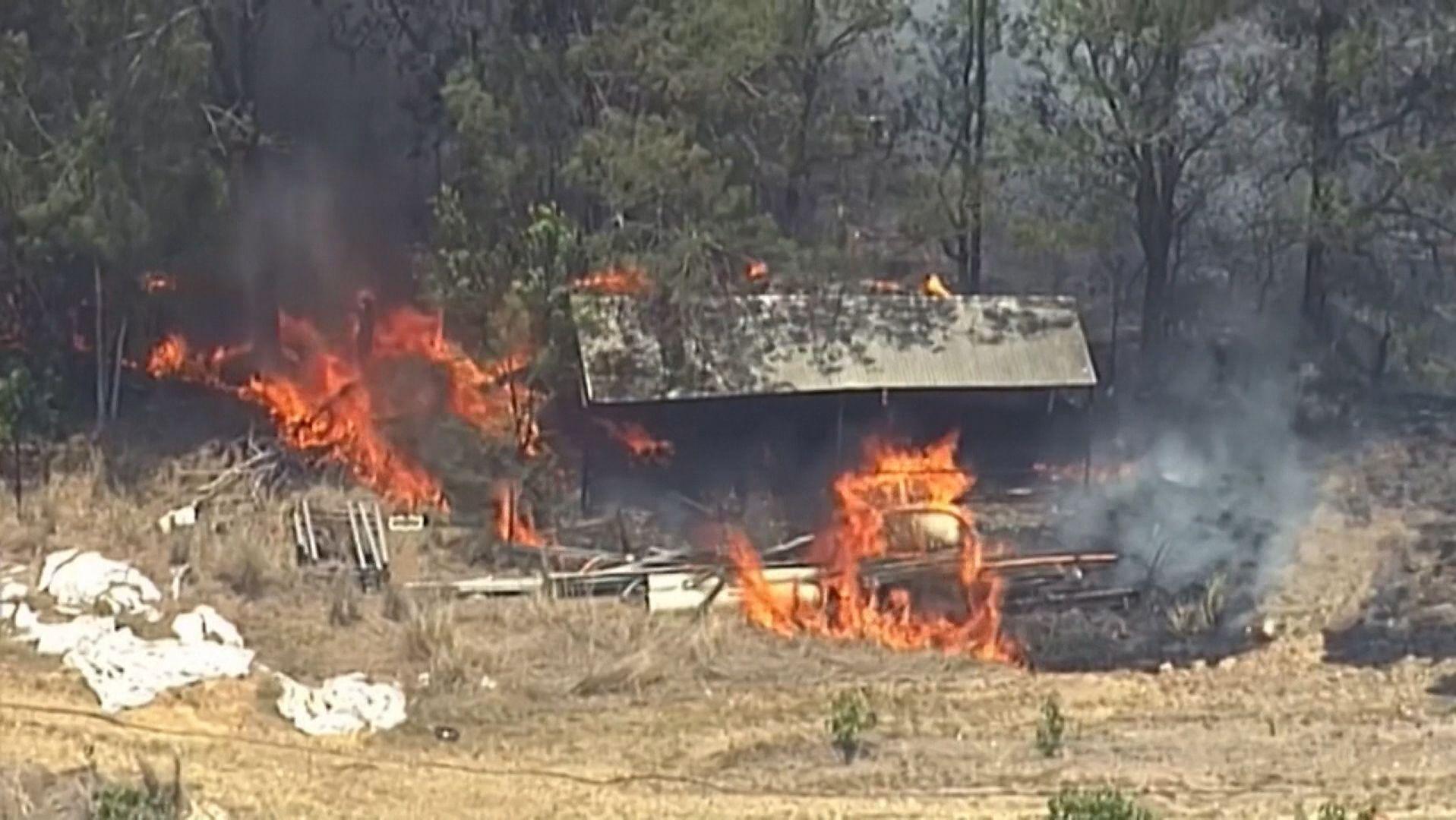 Schwere Brände in Australien