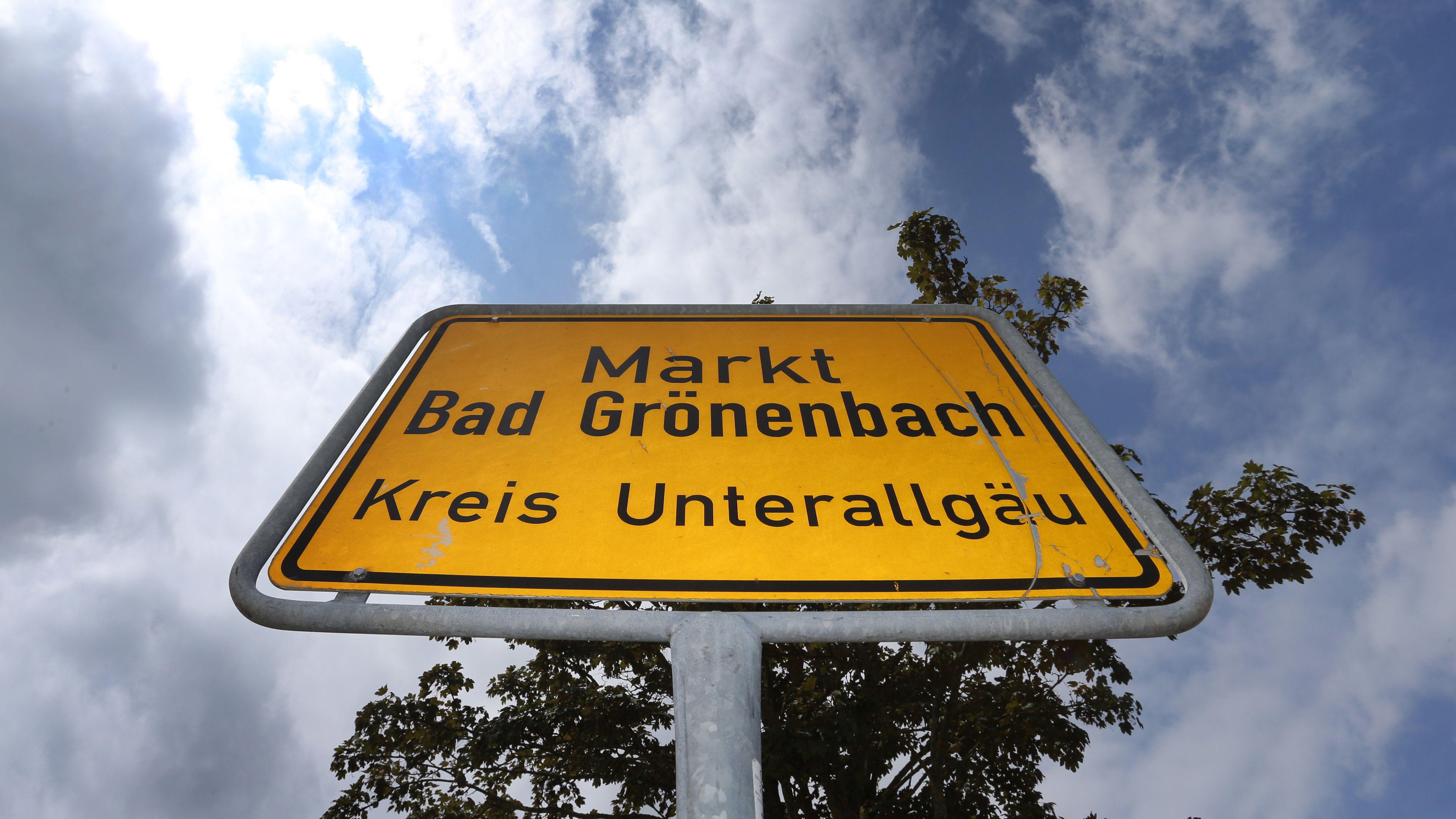 Ortseingangsschild Bad Grönenbach