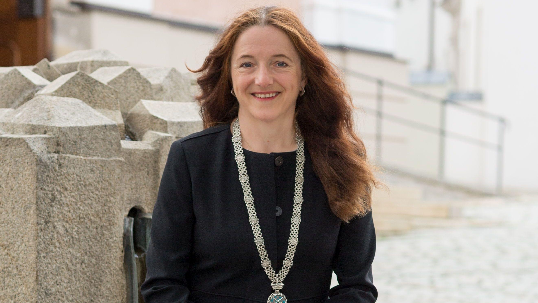 Erste Bürgermeisterin von Cham: Karin Bucher