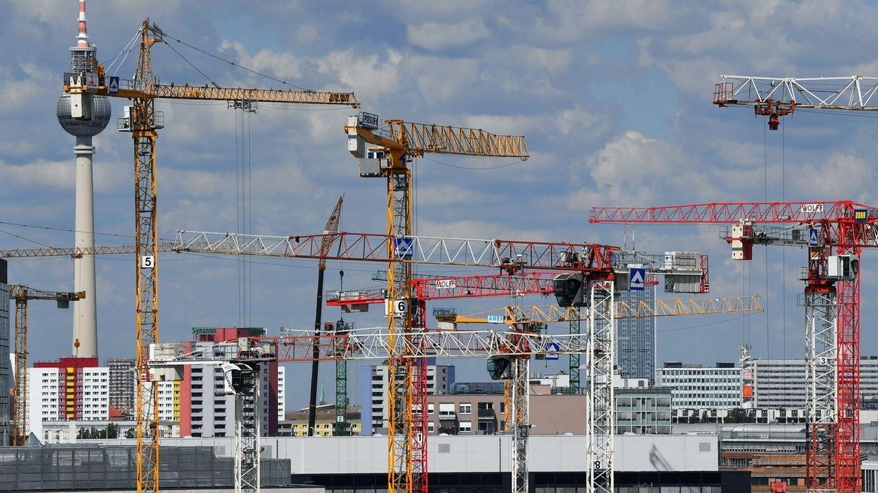 Bauarbeiten in Berlin