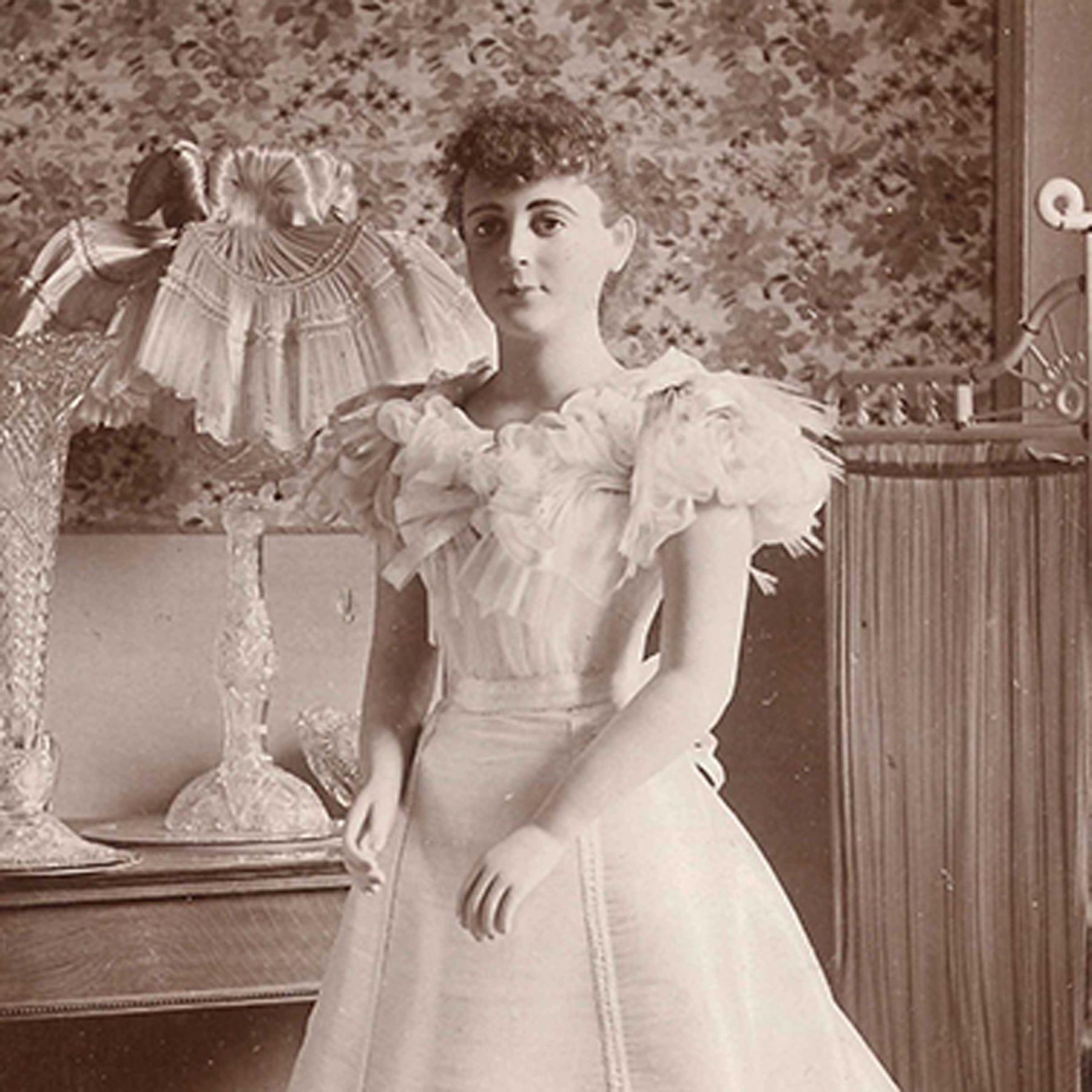 Hightech aus dem 19. Jahrhundert - Ein Kleid aus Glasfaser