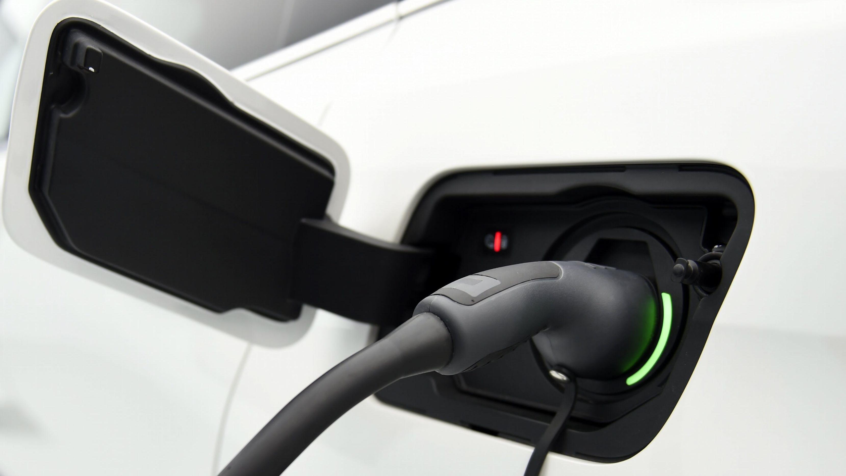 Die Ladevorrichtung eines Elektroautos