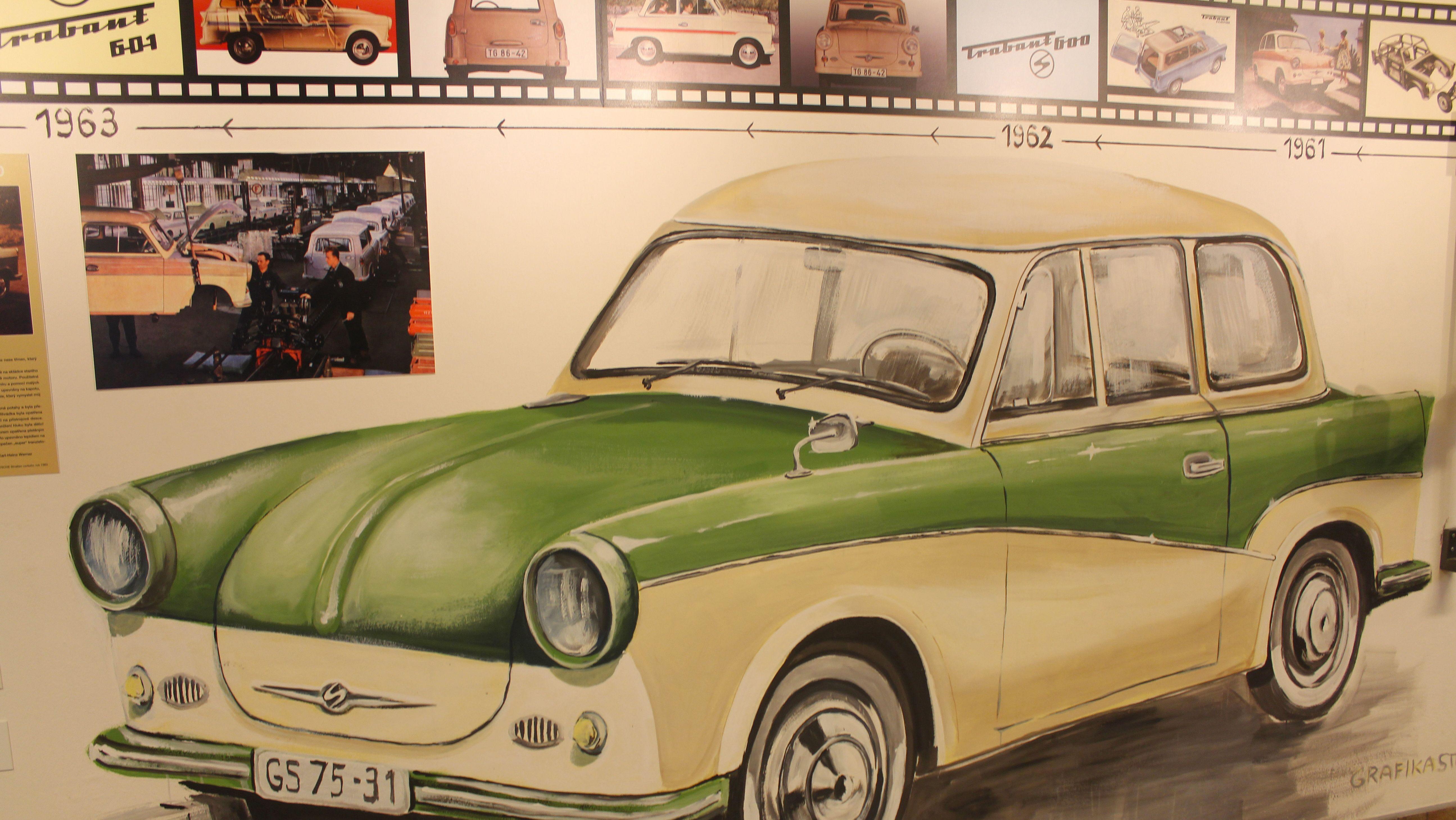 Trabbi & Co. in der DDR-Werbung