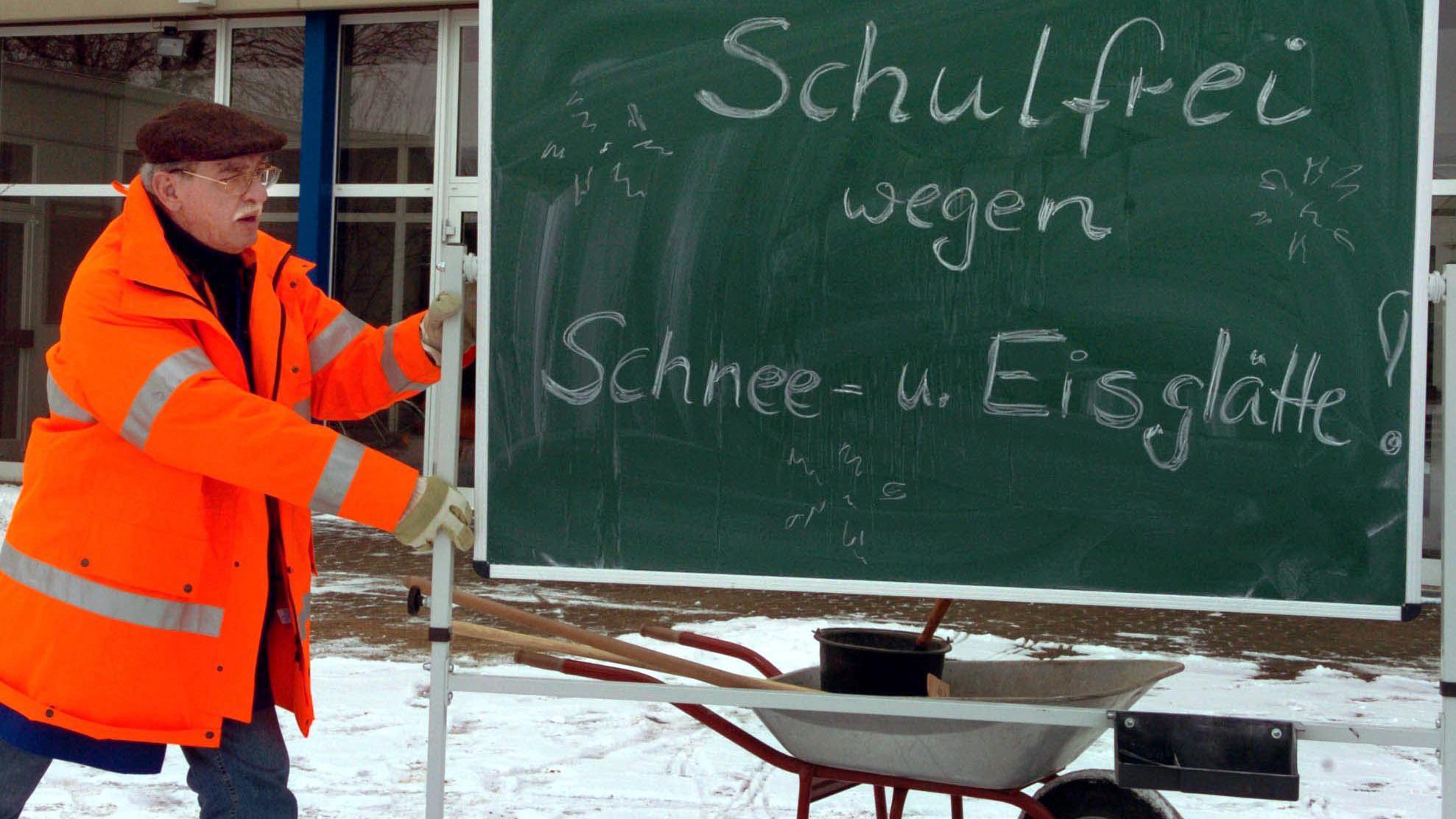 Zu viel Schnee: Hier fällt in Bayern die Schule aus