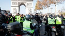 Proteste gegen hohe Spritpreise in Frankreich | Bild:Reuters