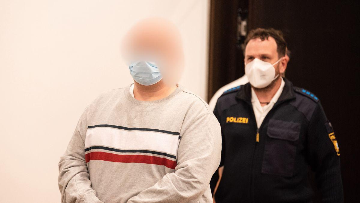 Angeklagter in Mordprozess am Landgericht Nürnberg-Fürth