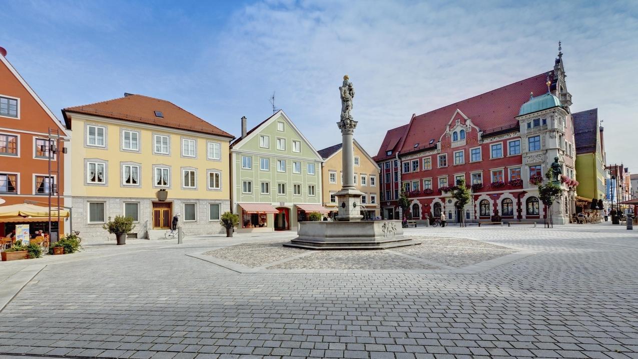 Marktplatz von Mindelheim