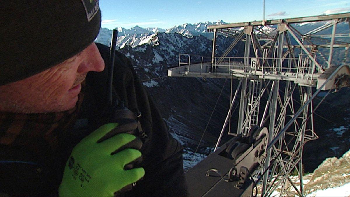 Revision bei der Nebelhornbahn