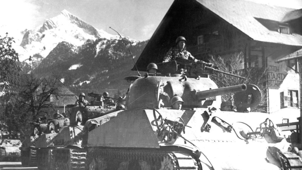 US-Einmarsch in Garmisch
