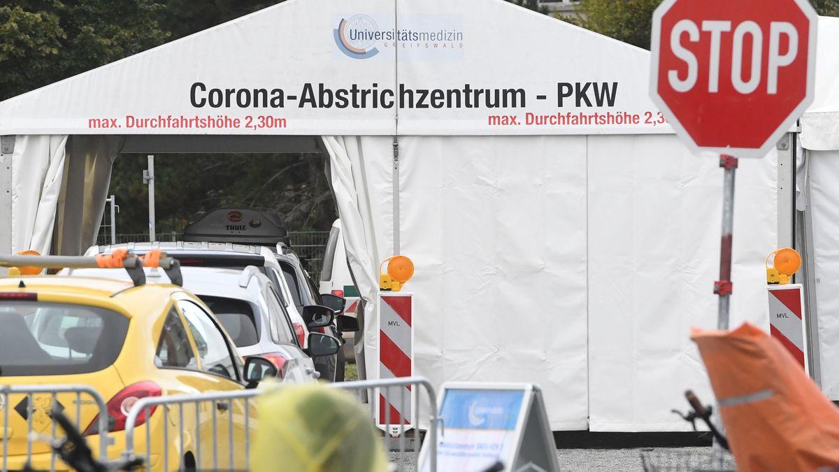 Testzentrum für Corona-Verdachtsfälle