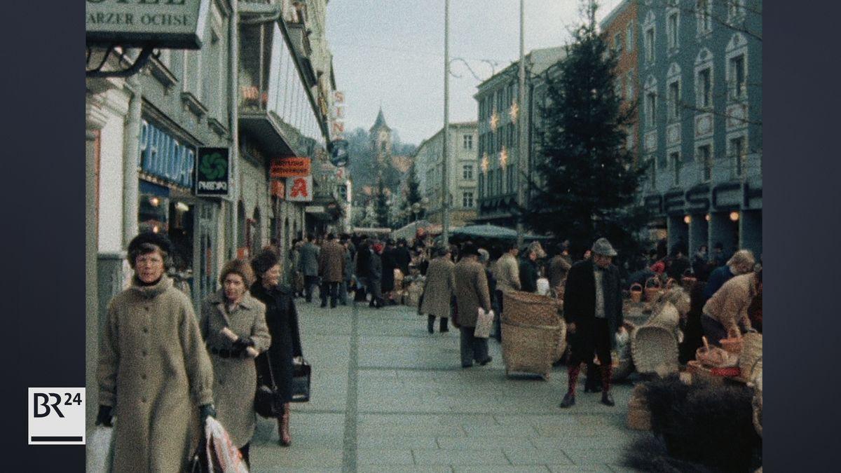 Holzmarkt in der Passauer Innenstadt