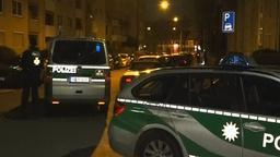 Polizeifahrzeuge in Sankt Johannis   Bild:BR