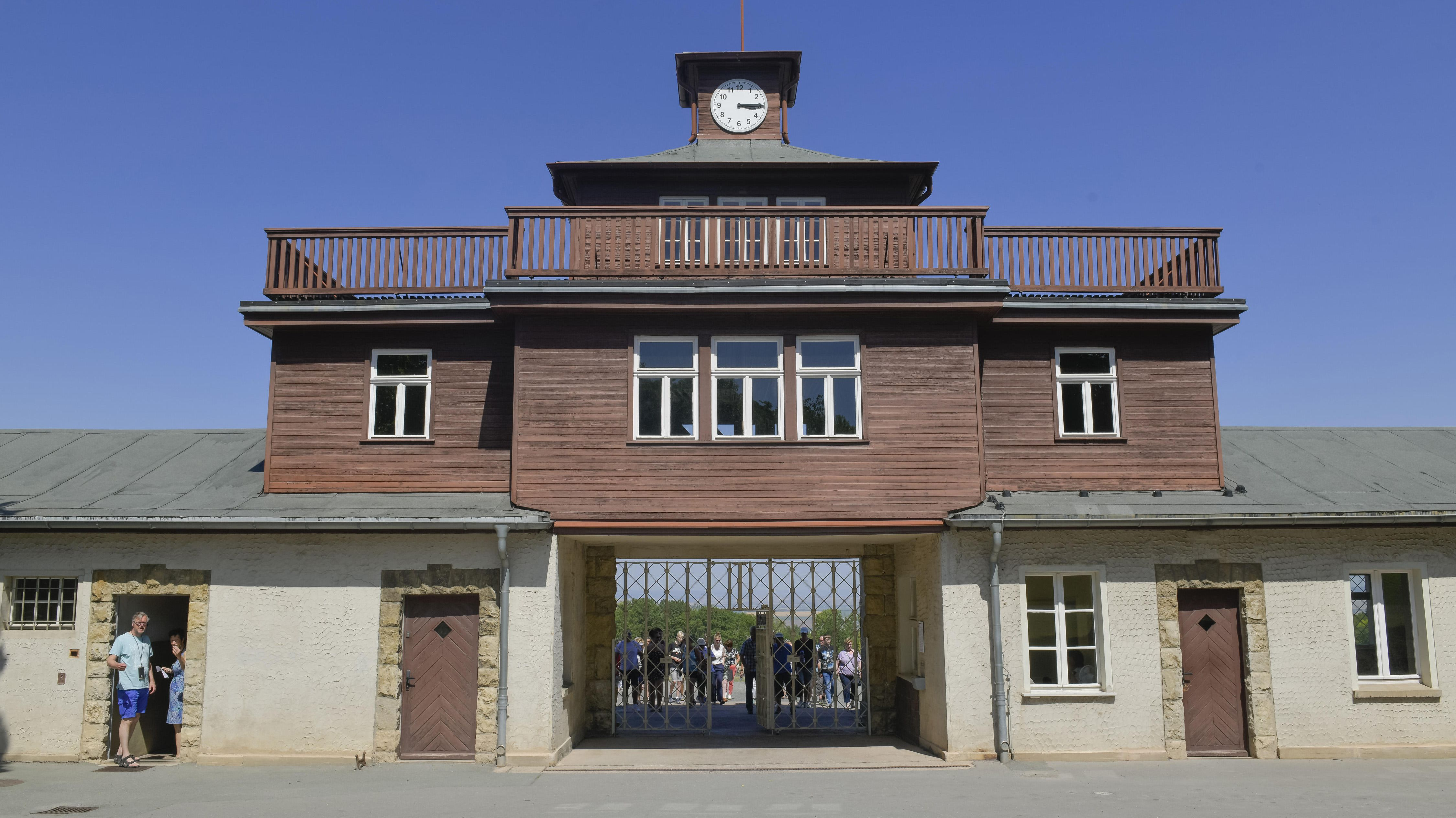 Lagertor der Gedenkstätte KZ Buchenwald