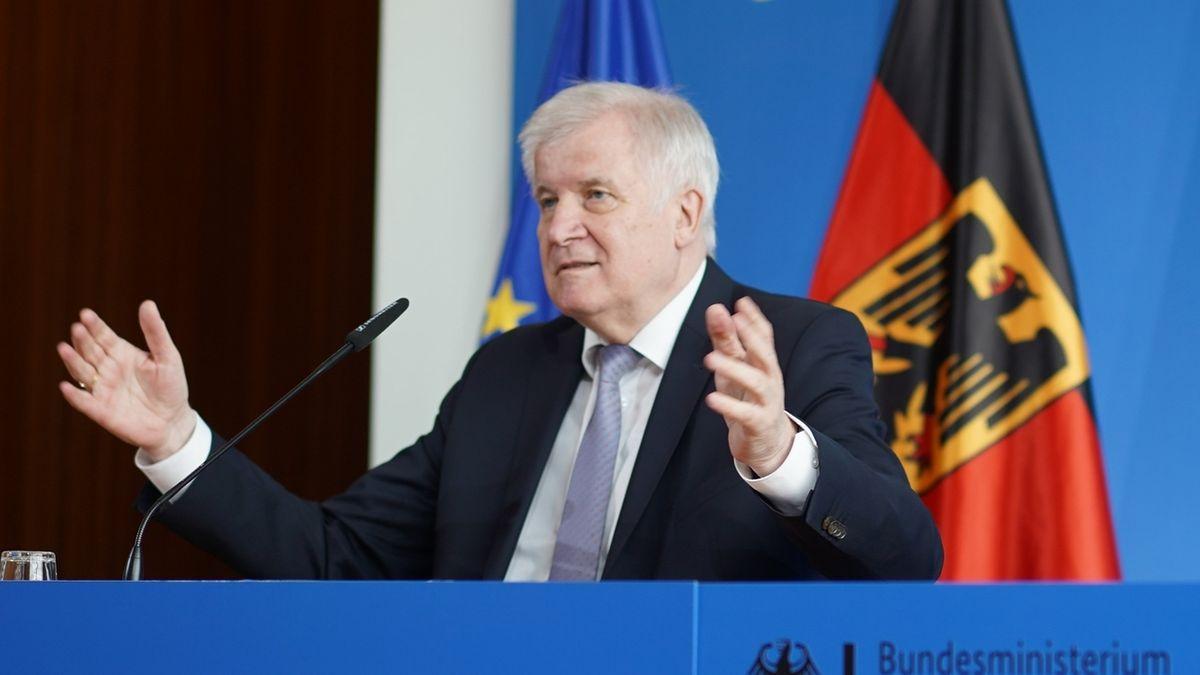 Pressekonferenz Innenminister Seehofer zu Binnengrenzkontrollen