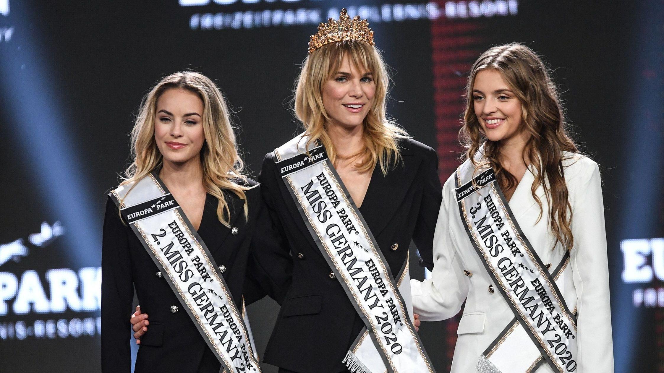 Die Gewinnerin bei der Wahl zur Miss Germany 2020