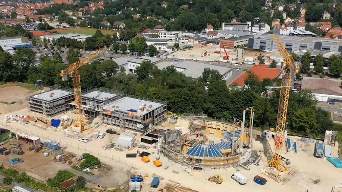 """Landestheater Coburg vor Umzug ins """"Globe"""""""